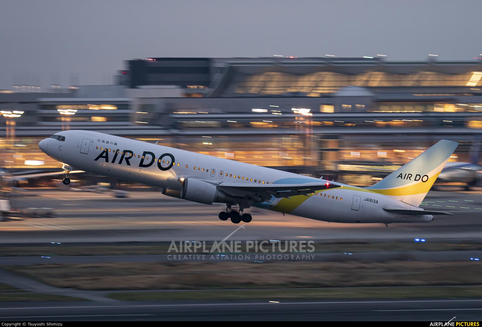Air Do - Hokkaido International Airlines JA613A aircraft at Tokyo - Haneda Intl