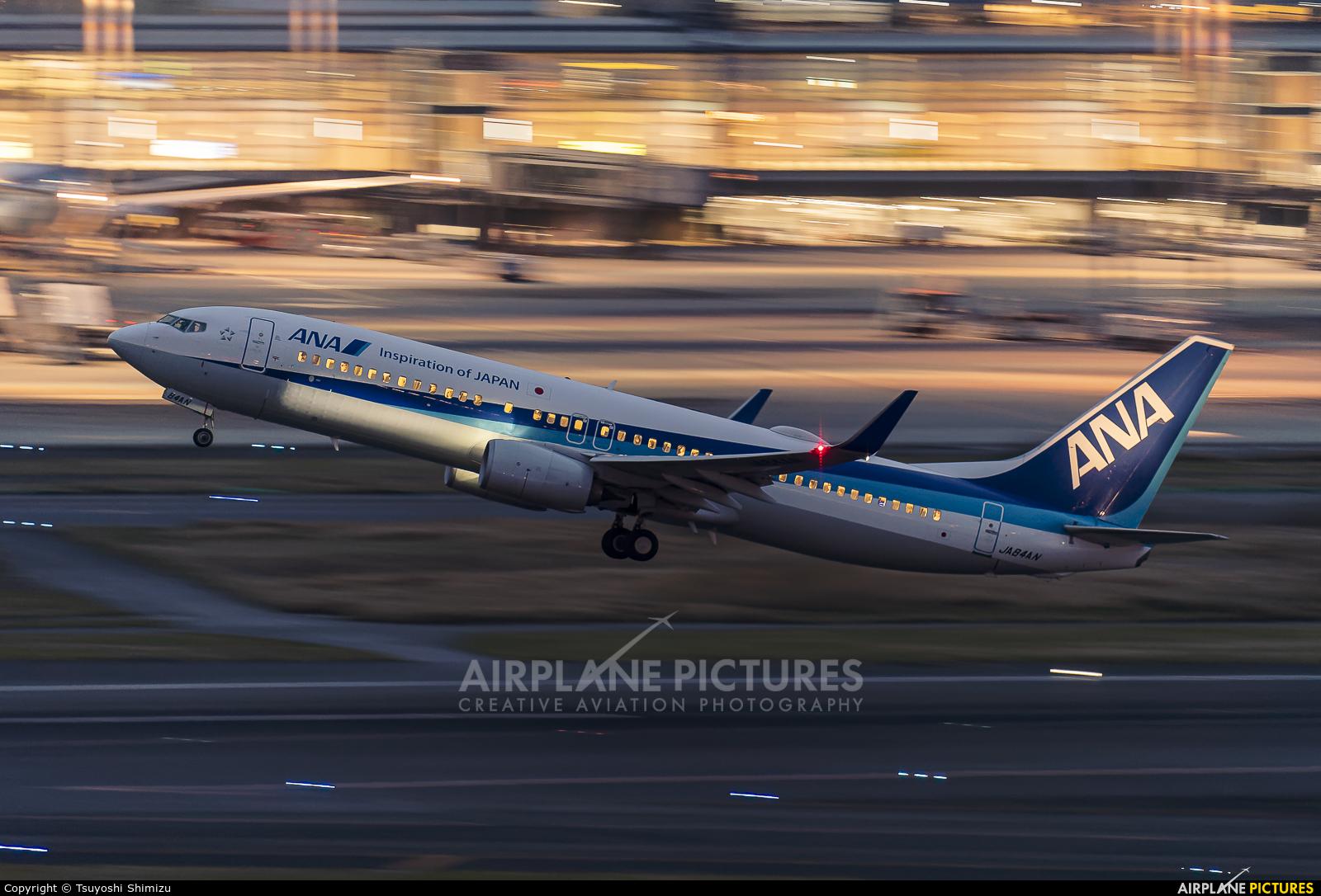 ANA - All Nippon Airways JA84AN aircraft at Tokyo - Haneda Intl