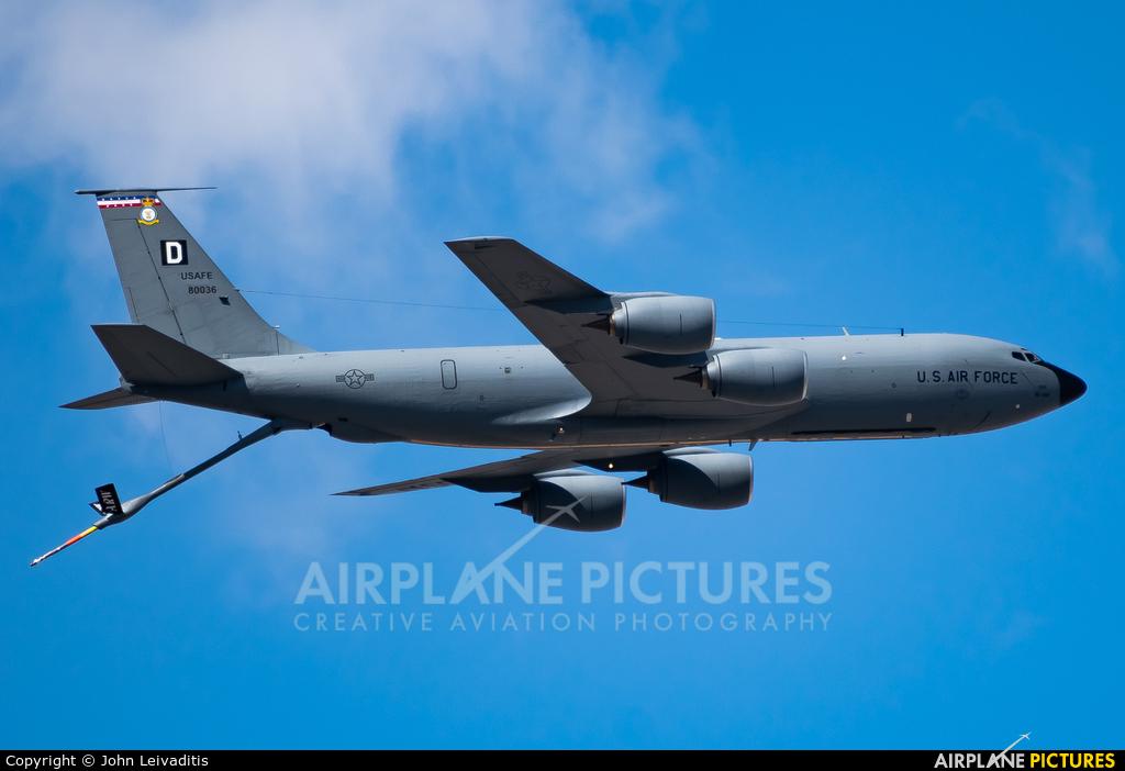 USA - Air Force 58-0036 aircraft at Off Airport - Greece