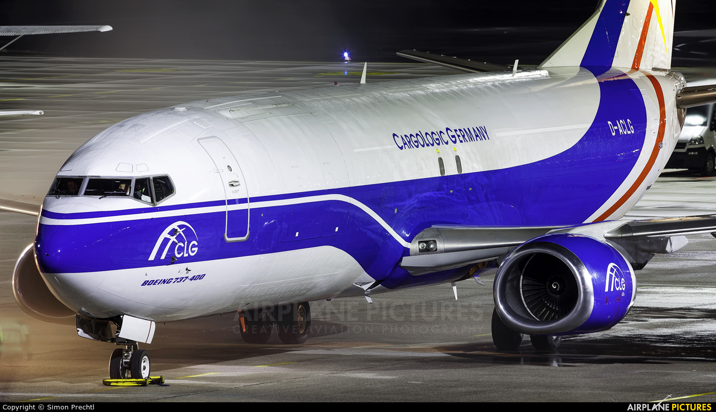 CargoLogic Germany D-ACLG aircraft at Linz