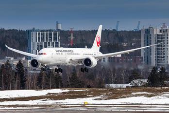 JA877J - JAL - Japan Airlines Boeing 787-9 Dreamliner