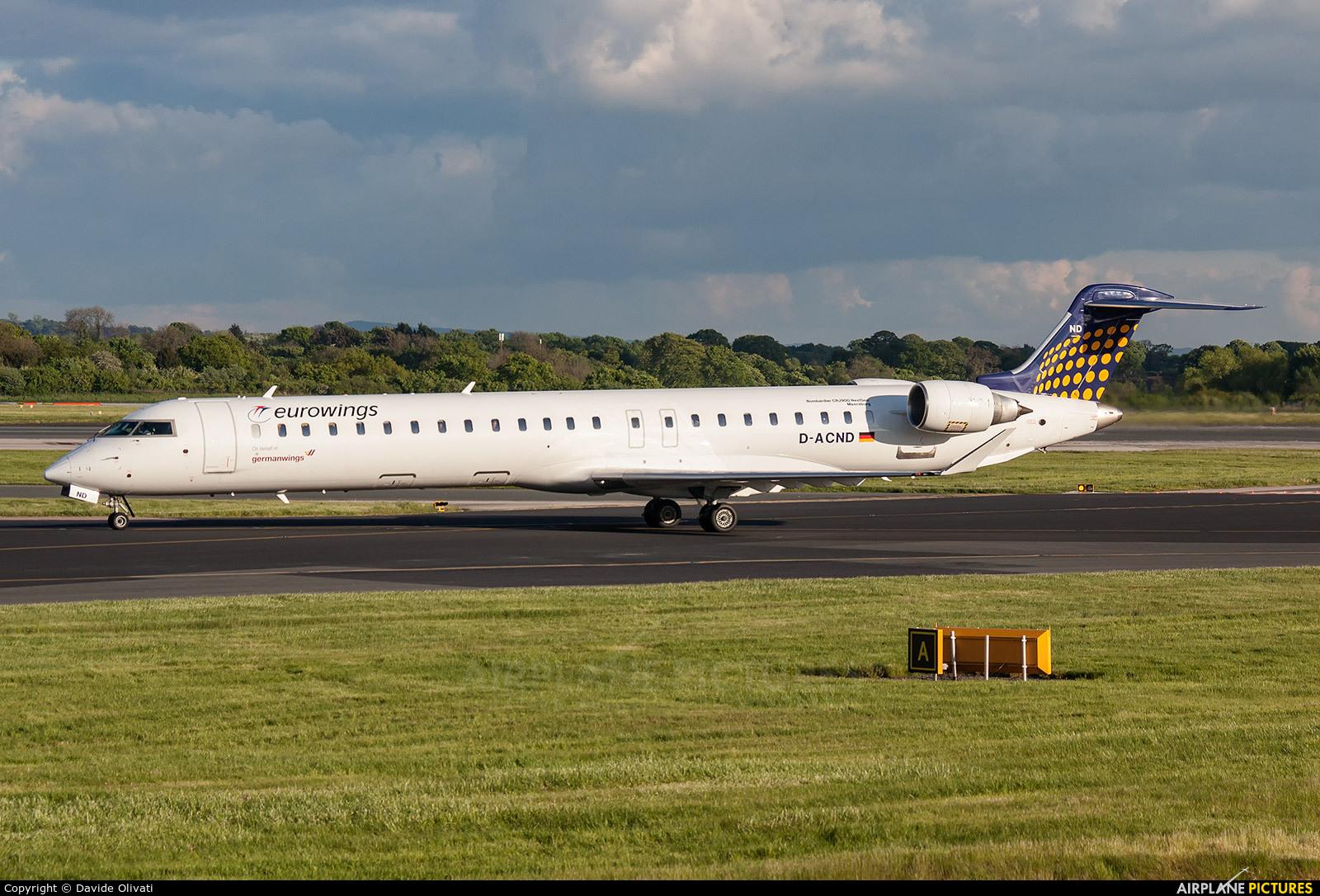 Lufthansa Regional - CityLine D-ACND aircraft at Manchester