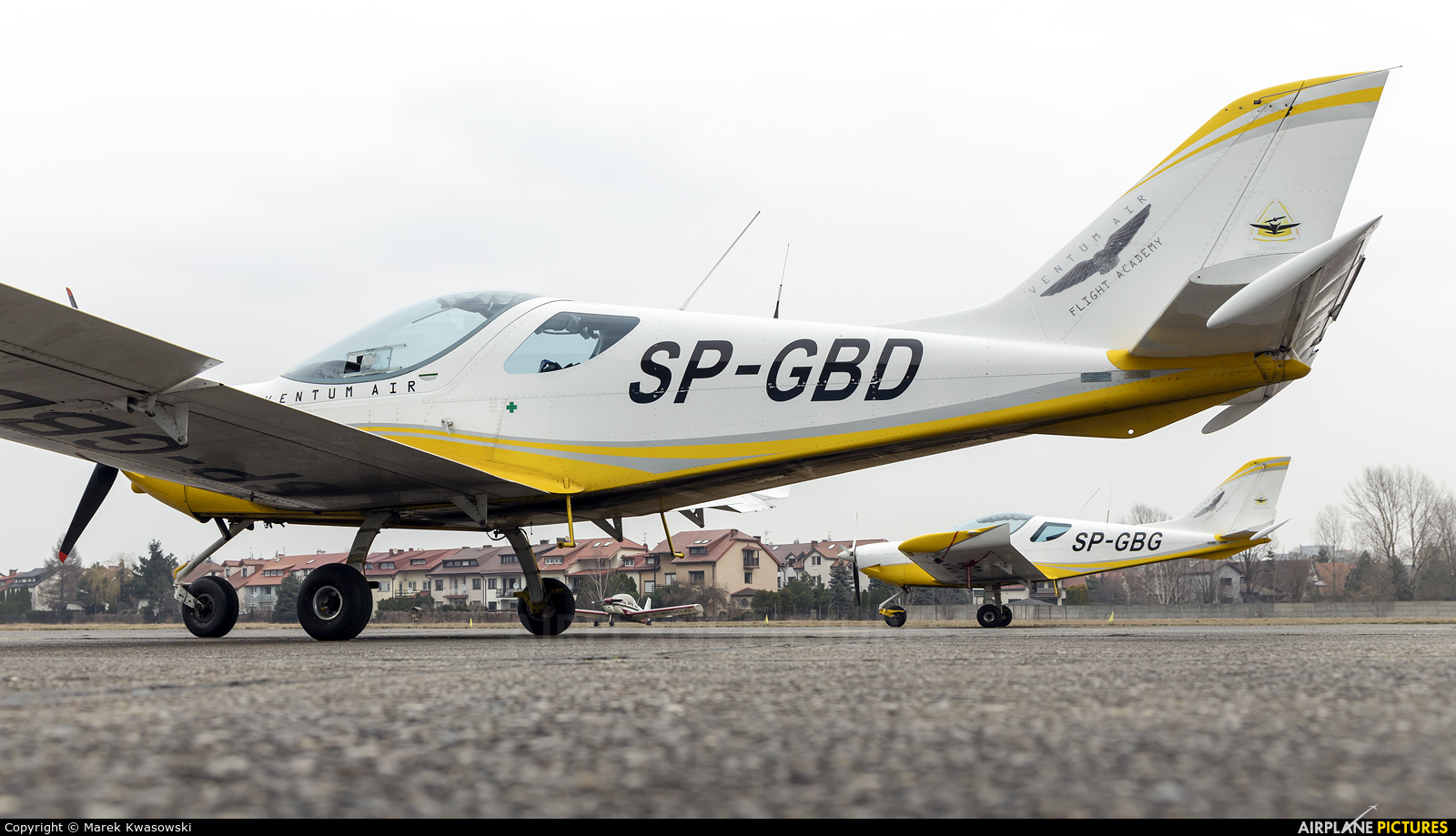 Ventum Air SP-GBD aircraft at Warsaw - Babice