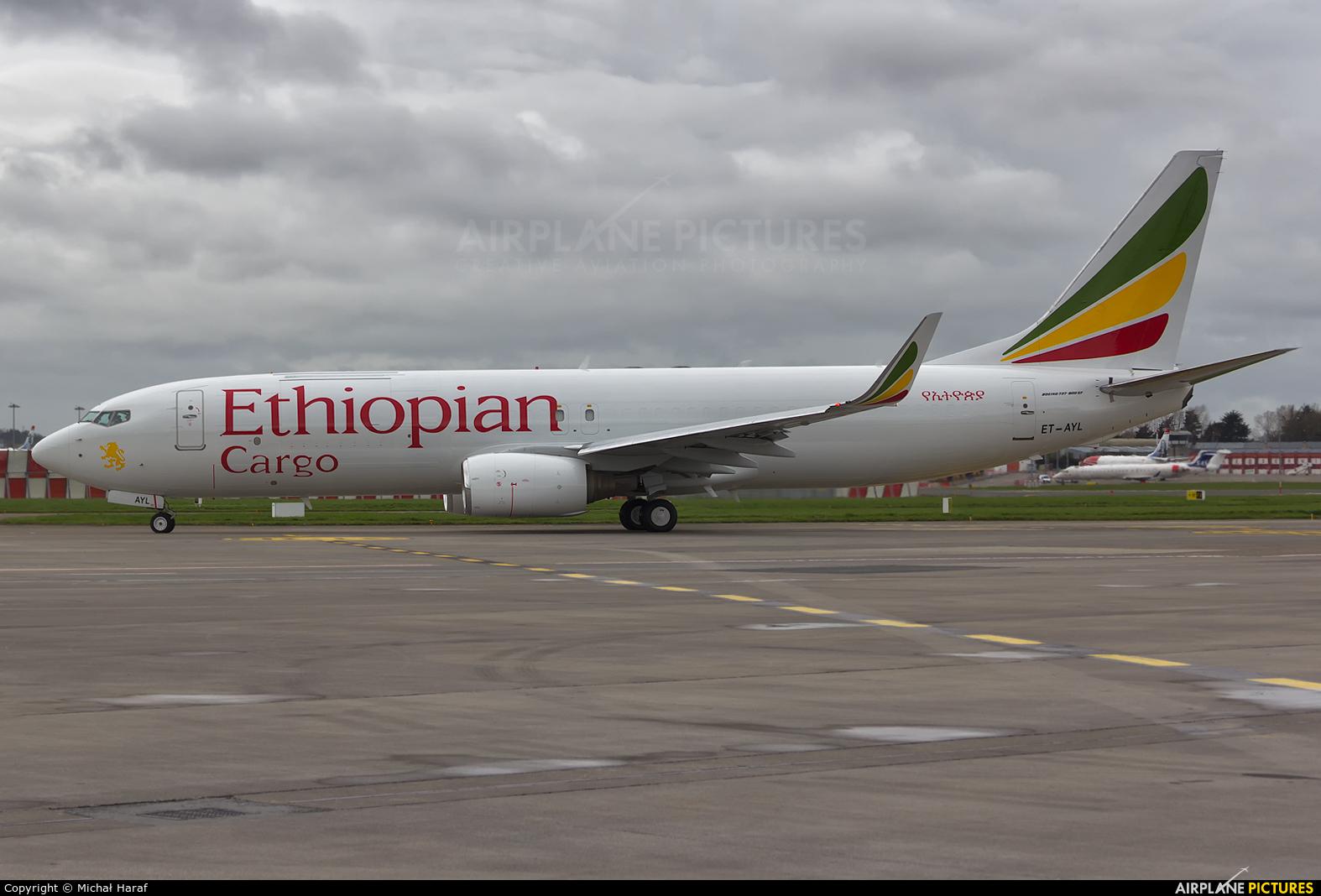 Ethiopian Cargo ET-AYL aircraft at Dublin