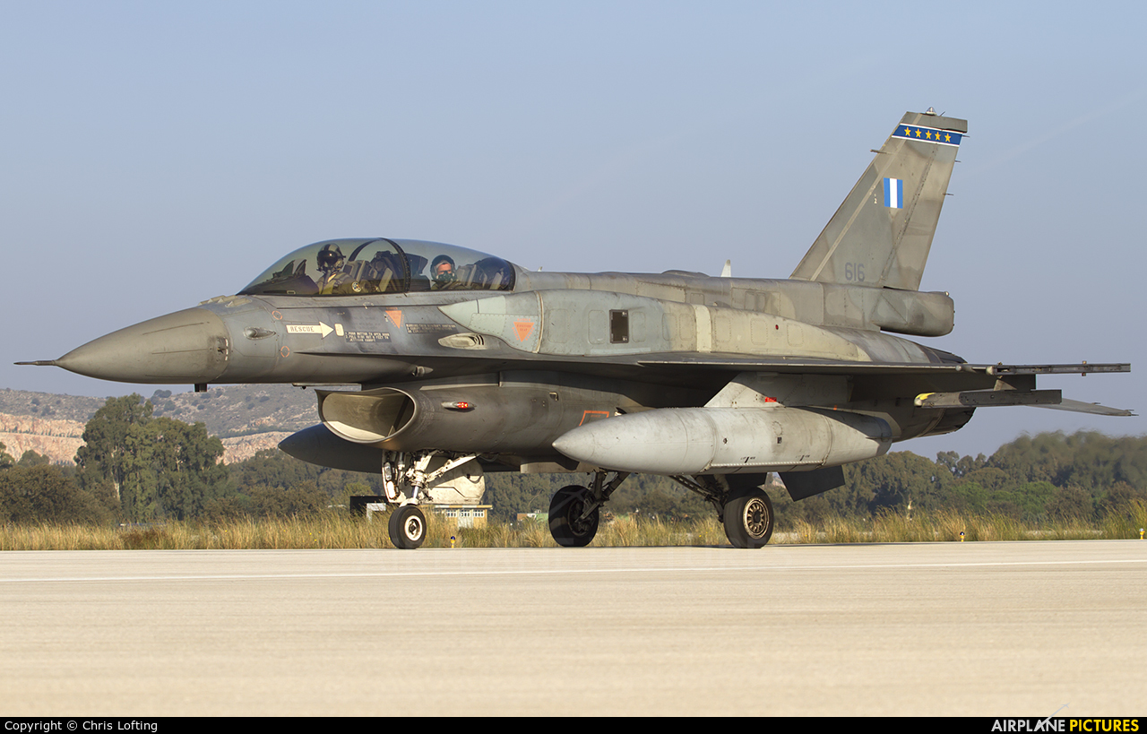 Greece - Hellenic Air Force 616 aircraft at Araxos