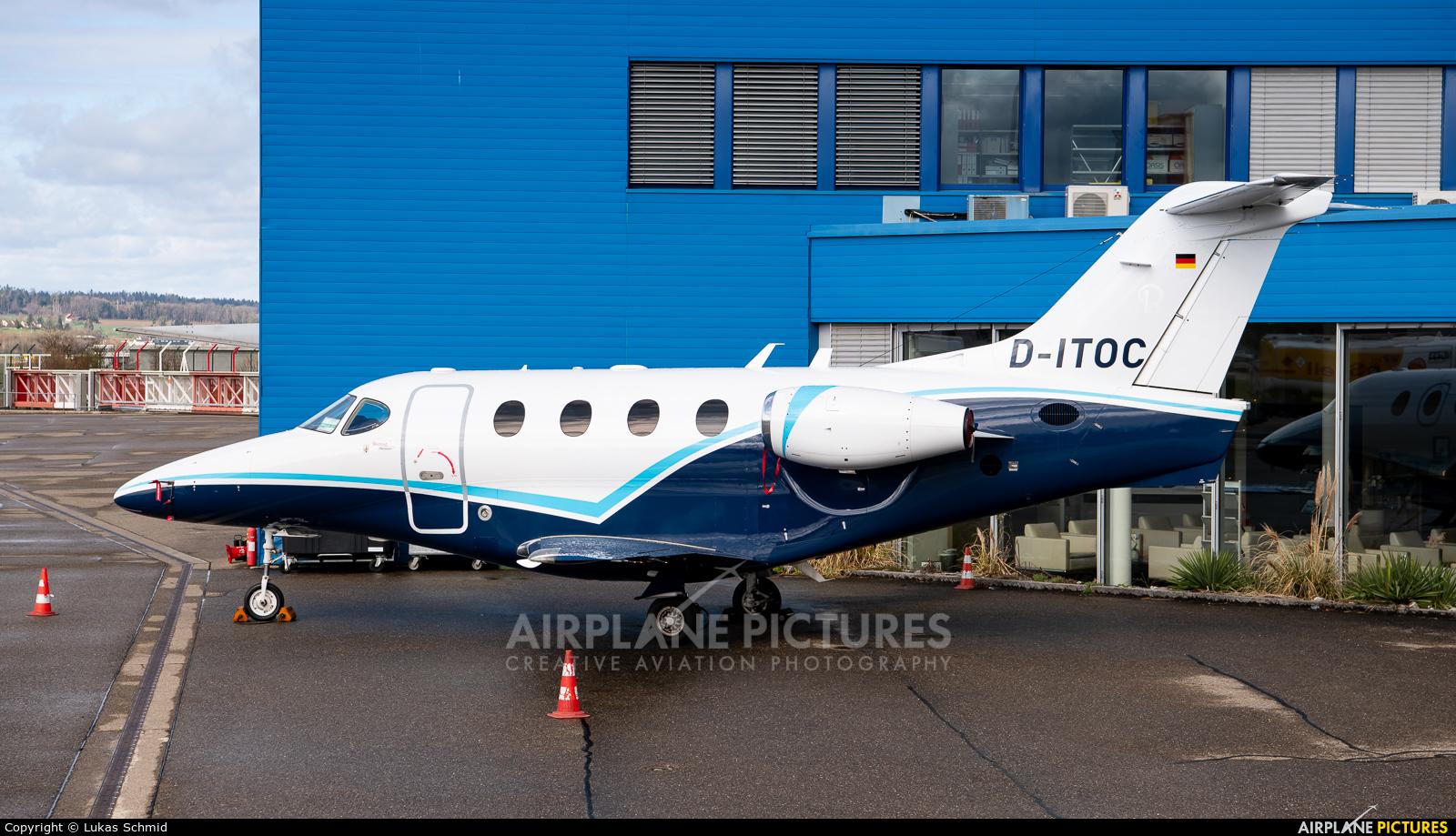 Exxaero D-ITOC aircraft at Zurich