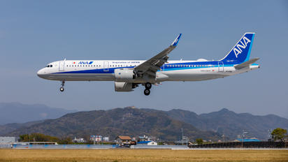 JA148A - ANA - All Nippon Airways Airbus A321 NEO