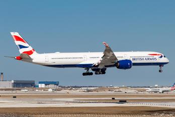 G-XWBE - British Airways Airbus A350-1000