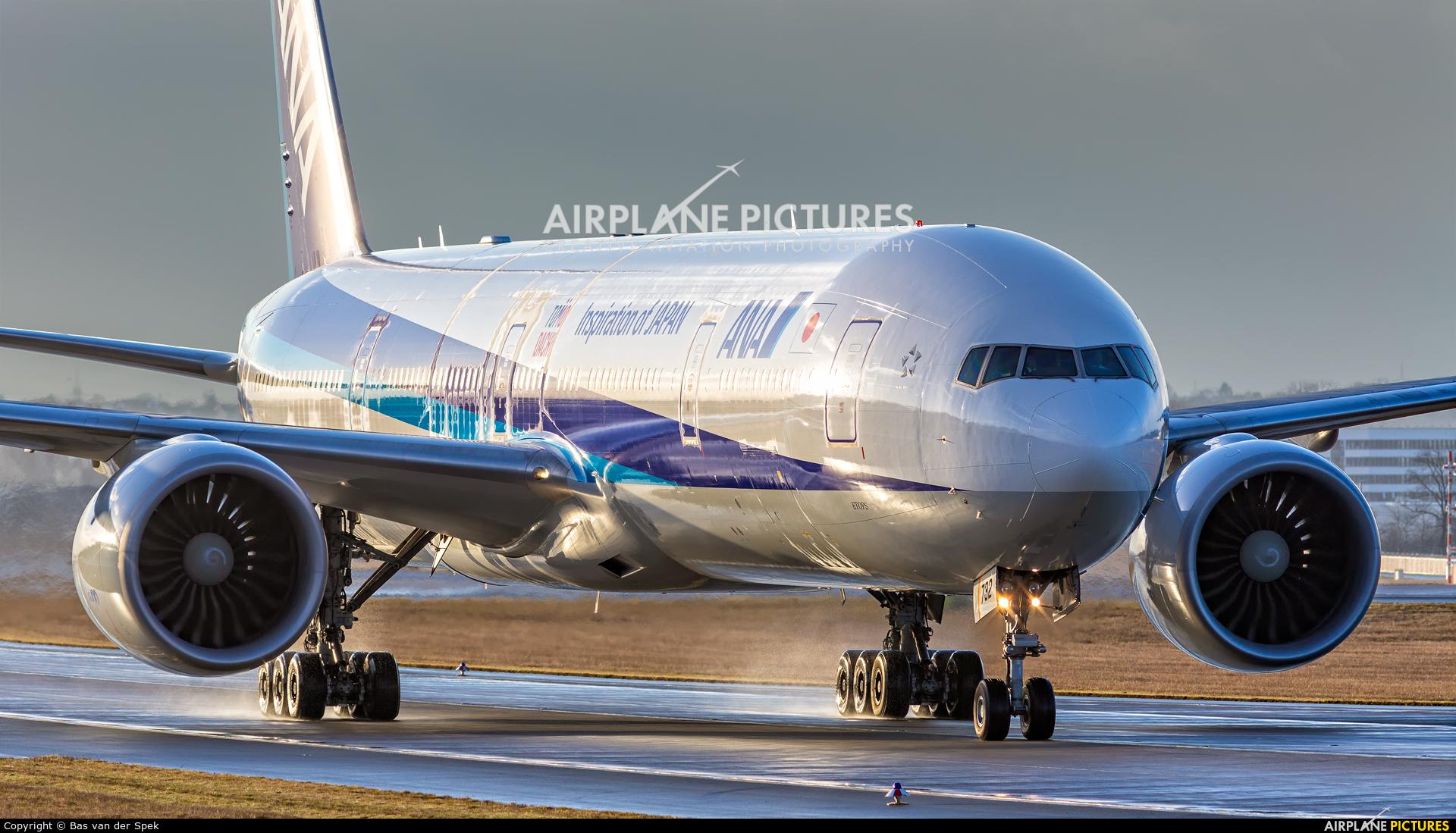 ANA - All Nippon Airways JA732A aircraft at Frankfurt