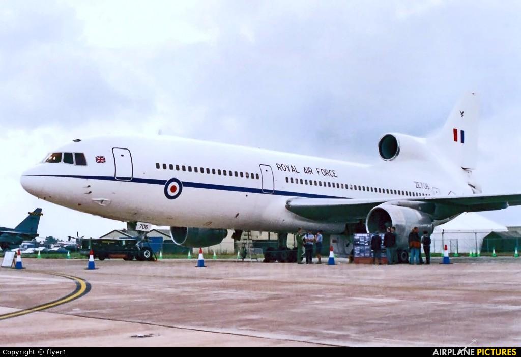 Royal Air Force ZE706 aircraft at Fairford