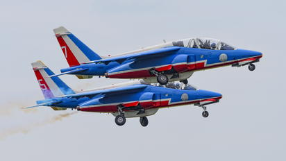 "E95 - France - Air Force ""Patrouille de France"" Dassault - Dornier Alpha Jet E"