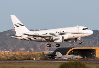 A6-CAS - Private Airbus A318 CJ