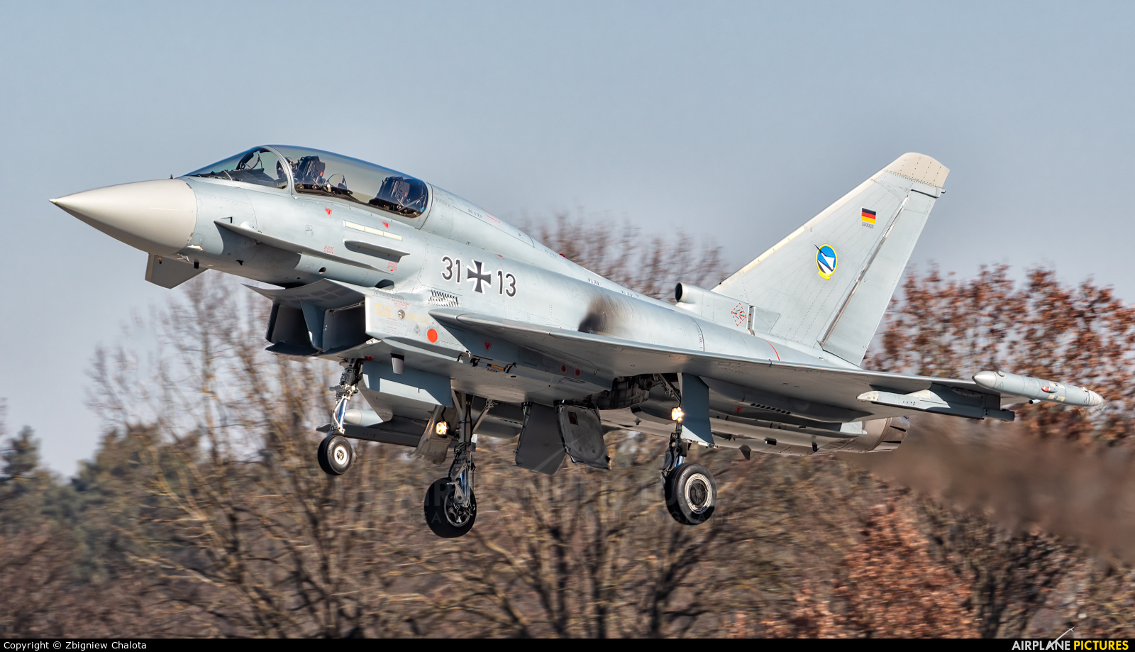 Germany - Air Force 31+13 aircraft at Ingolstadt - Manching