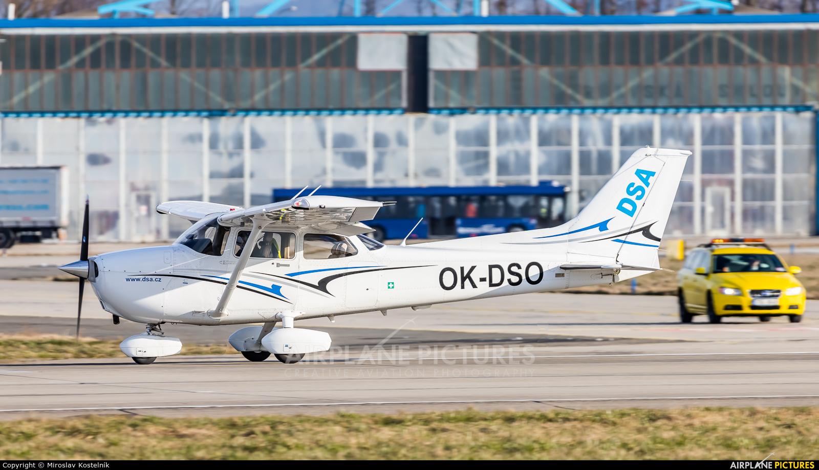 DSA - Delta System Air OK-DSO aircraft at Ostrava Mošnov