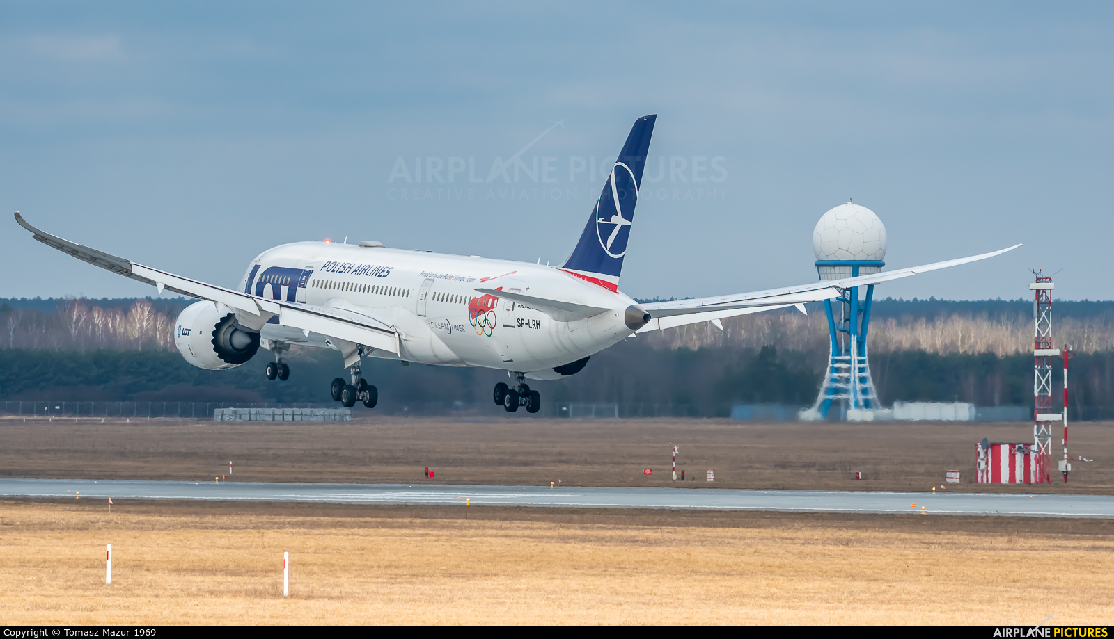 LOT - Polish Airlines SP-LRH aircraft at Katowice - Pyrzowice