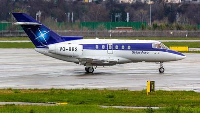 VQ-BBS - Sirius-Aero Raytheon Hawker 750XP