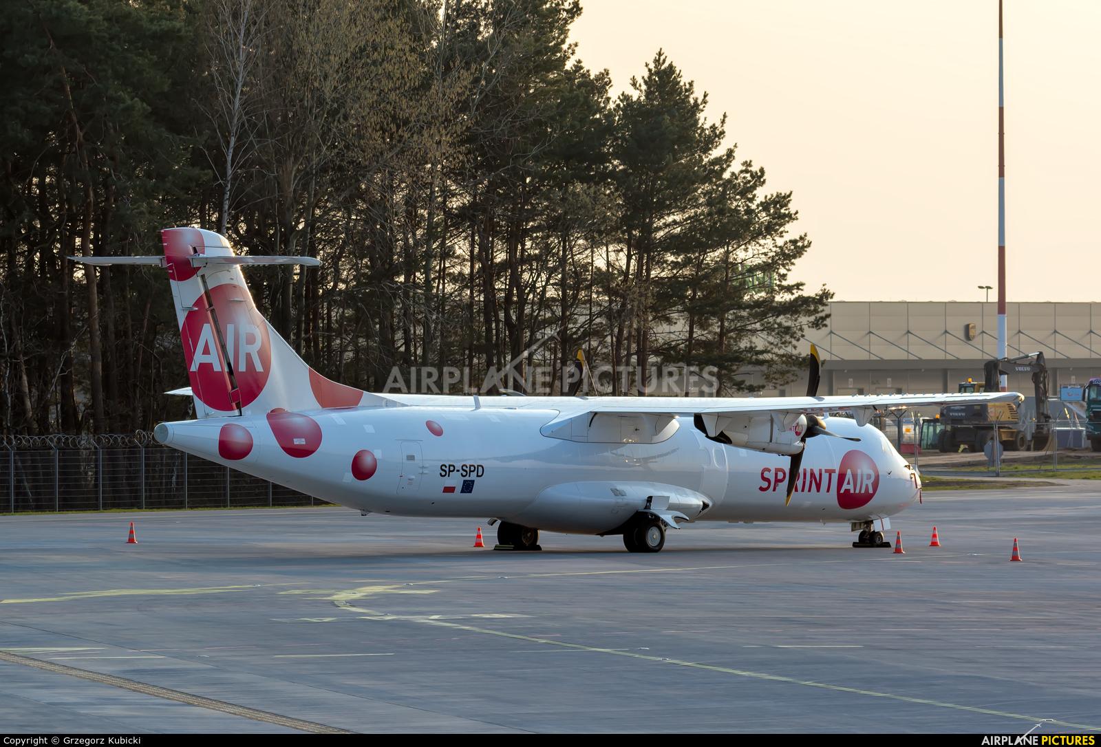 Sprint Air SP-SPD aircraft at Katowice - Pyrzowice