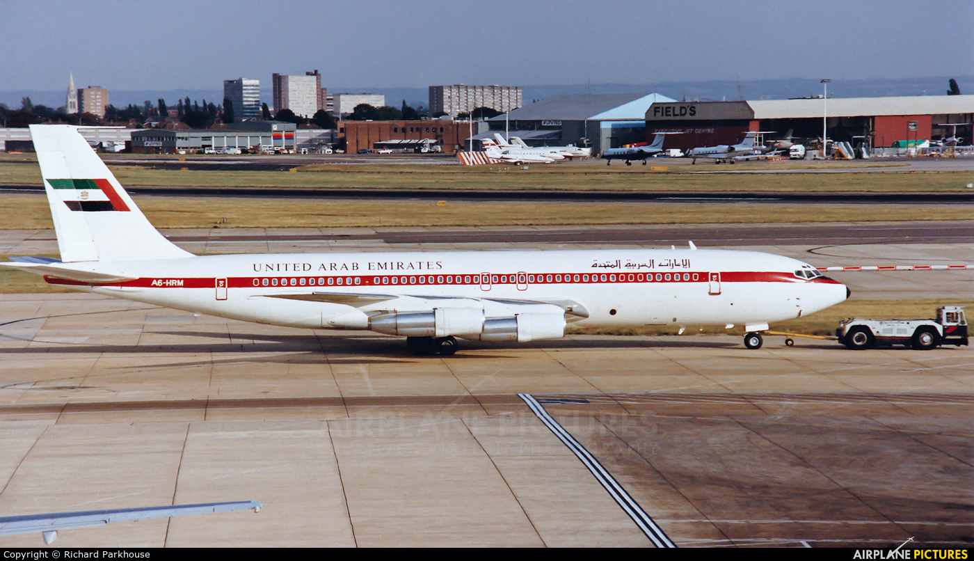United Arab Emirates - Government A6-HRM aircraft at London - Heathrow
