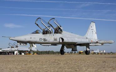 AE.9-012 - Spain - Air Force CASA-Northrop  SF-5B(M) Freedom Fighter