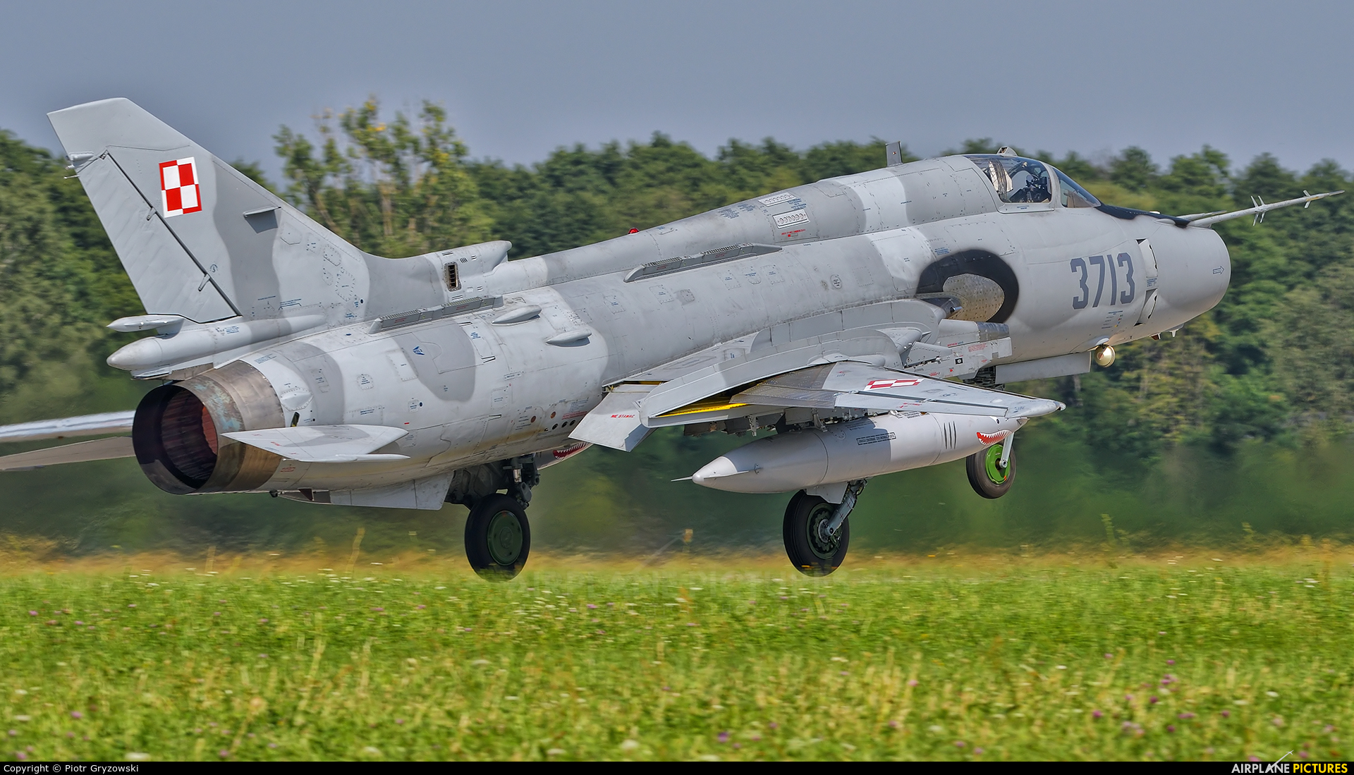 Poland - Air Force 3713 aircraft at Mińsk Mazowiecki