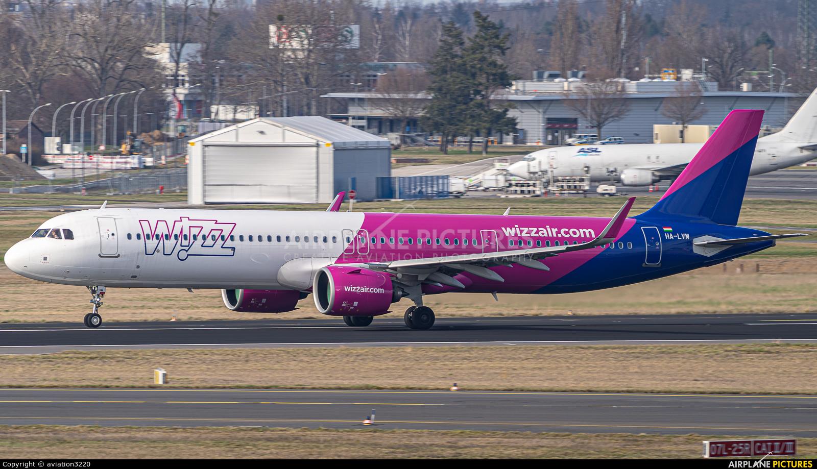Wizz Air HA-LVM aircraft at Berlin - Brandenburg