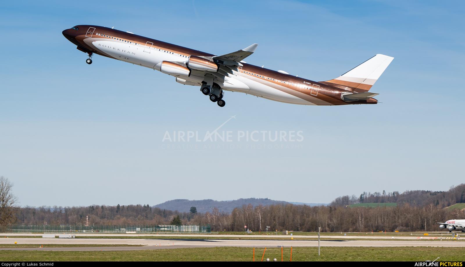 Klaret Aviation M-IABU aircraft at Zurich
