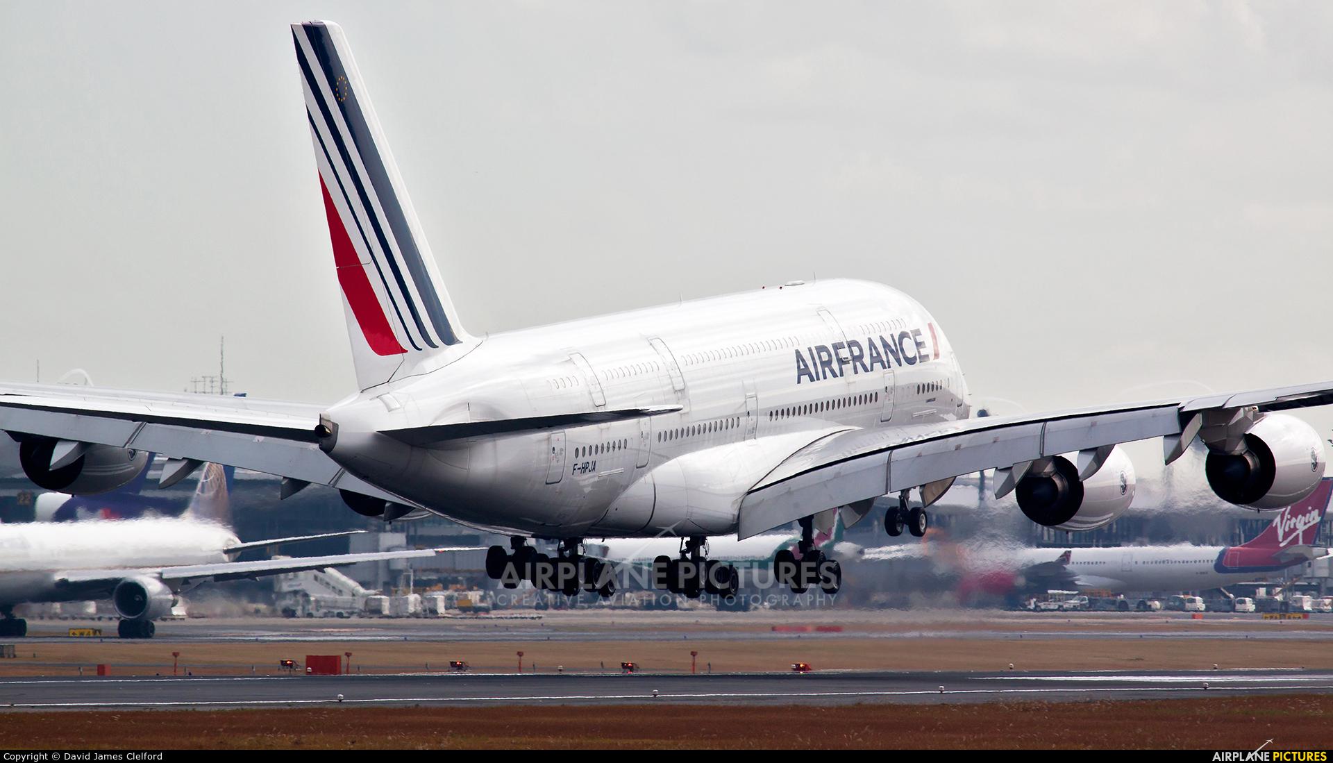 Air France F-HPJA aircraft at Tokyo - Narita Intl
