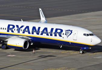 EI-GXG - Ryanair Boeing 737-8AS