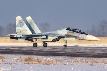 81 - Russia - Air Force Sukhoi Su-30SM
