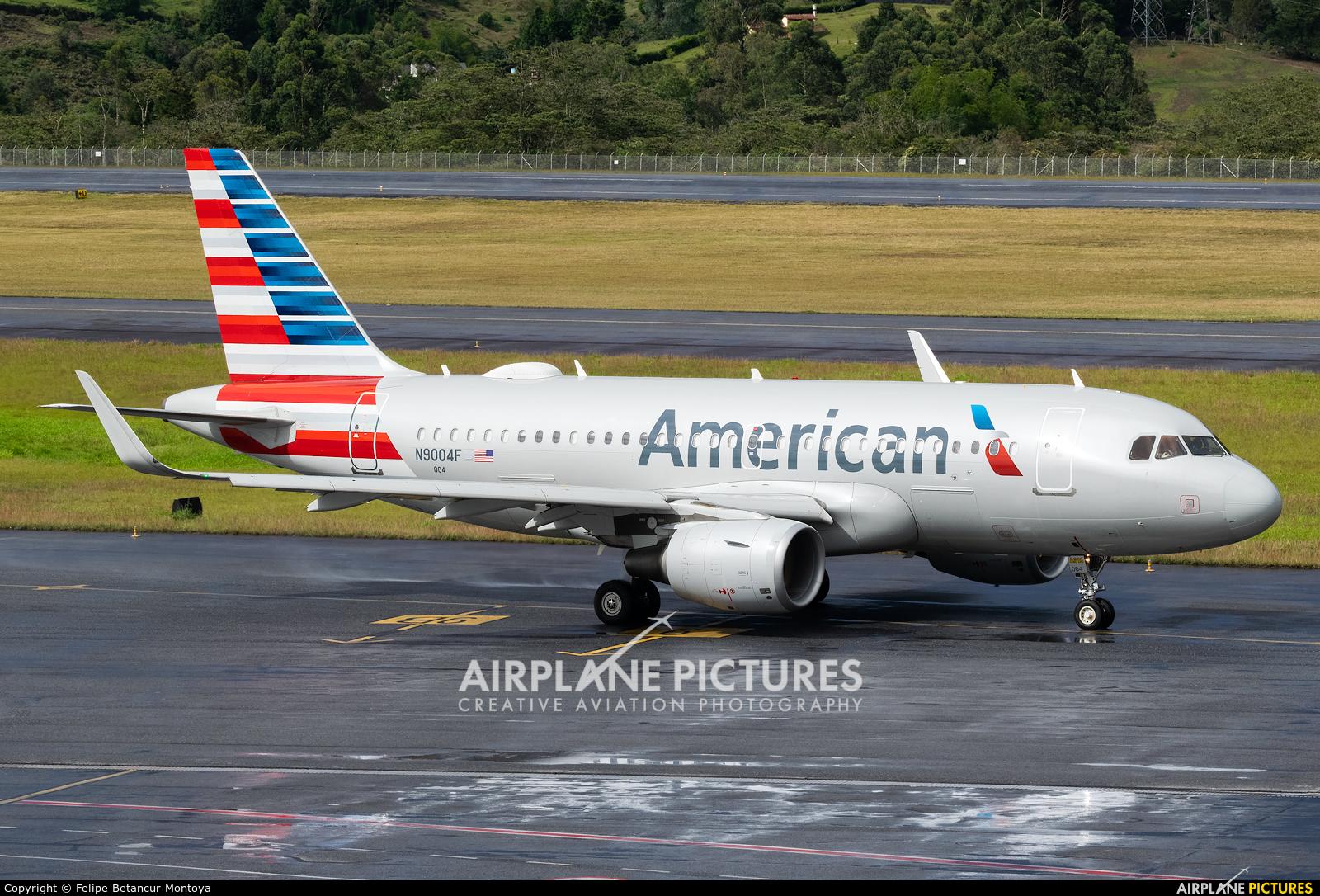 American Airlines N9004F aircraft at Medellin - Jose Maria Cordova Intl