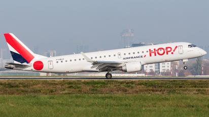 F-HBLK - Air France - Hop! Embraer ERJ-190 (190-100)