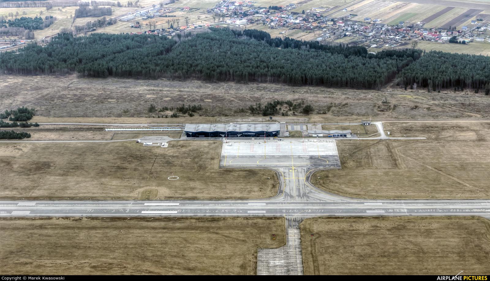- Airport Overview - aircraft at Olsztyn Mazury Airport (Szymany)