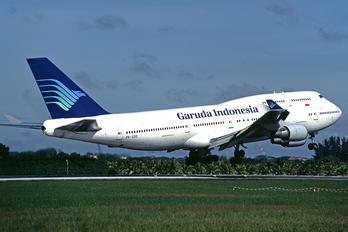 PK-GSG - Garuda Indonesia Boeing 747-400