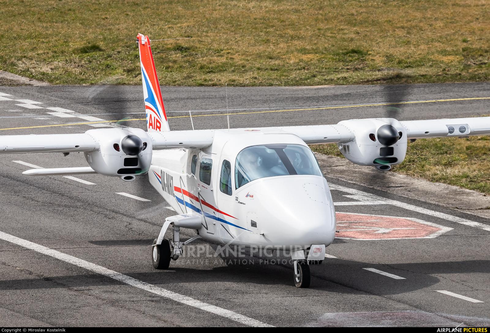 F-Air OK-MHZ aircraft at Ostrava Mošnov