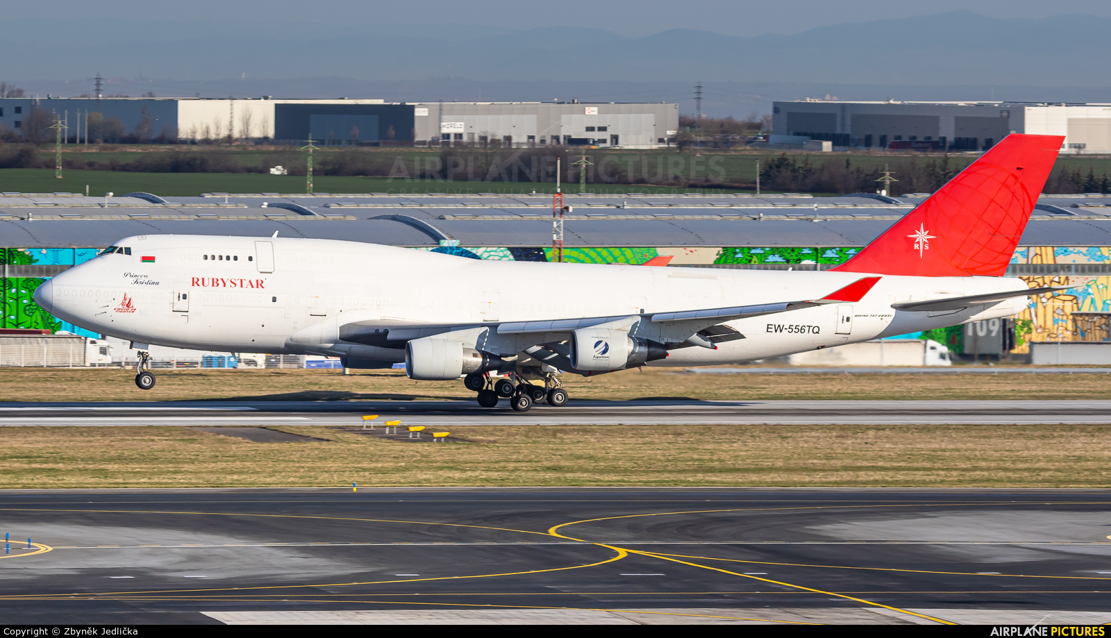 Ruby Star Air Enterprise EW-556TQ aircraft at Prague - Václav Havel