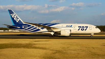 JA801A - ANA - All Nippon Airways Boeing 787-8 Dreamliner