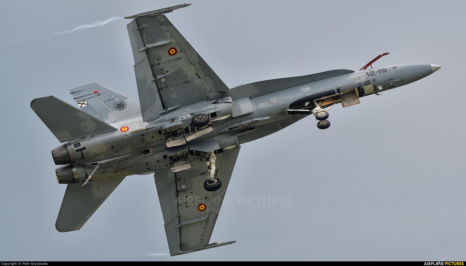 Spain - Air Force C.15-57 aircraft at Sliač