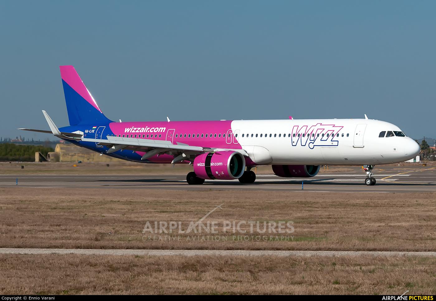 Wizz Air HA-LVK aircraft at Verona - Villafranca