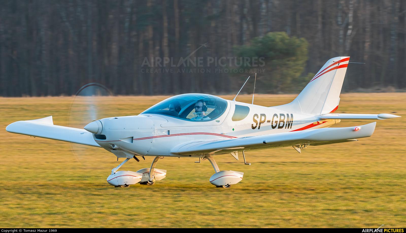 Private SP-GBM aircraft at Rybnik - Gotartowice