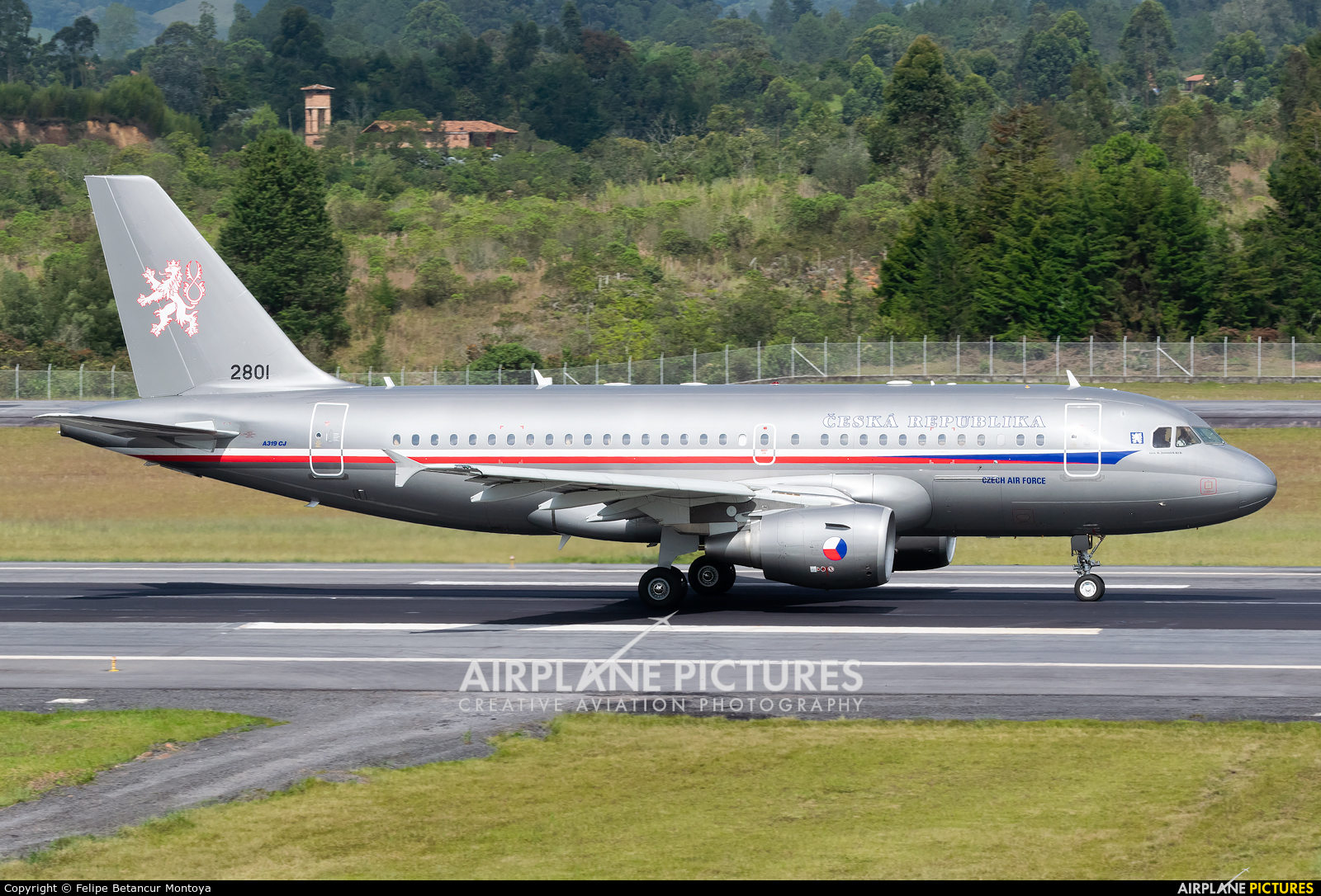 Czech - Air Force 2801 aircraft at Medellin - Jose Maria Cordova Intl