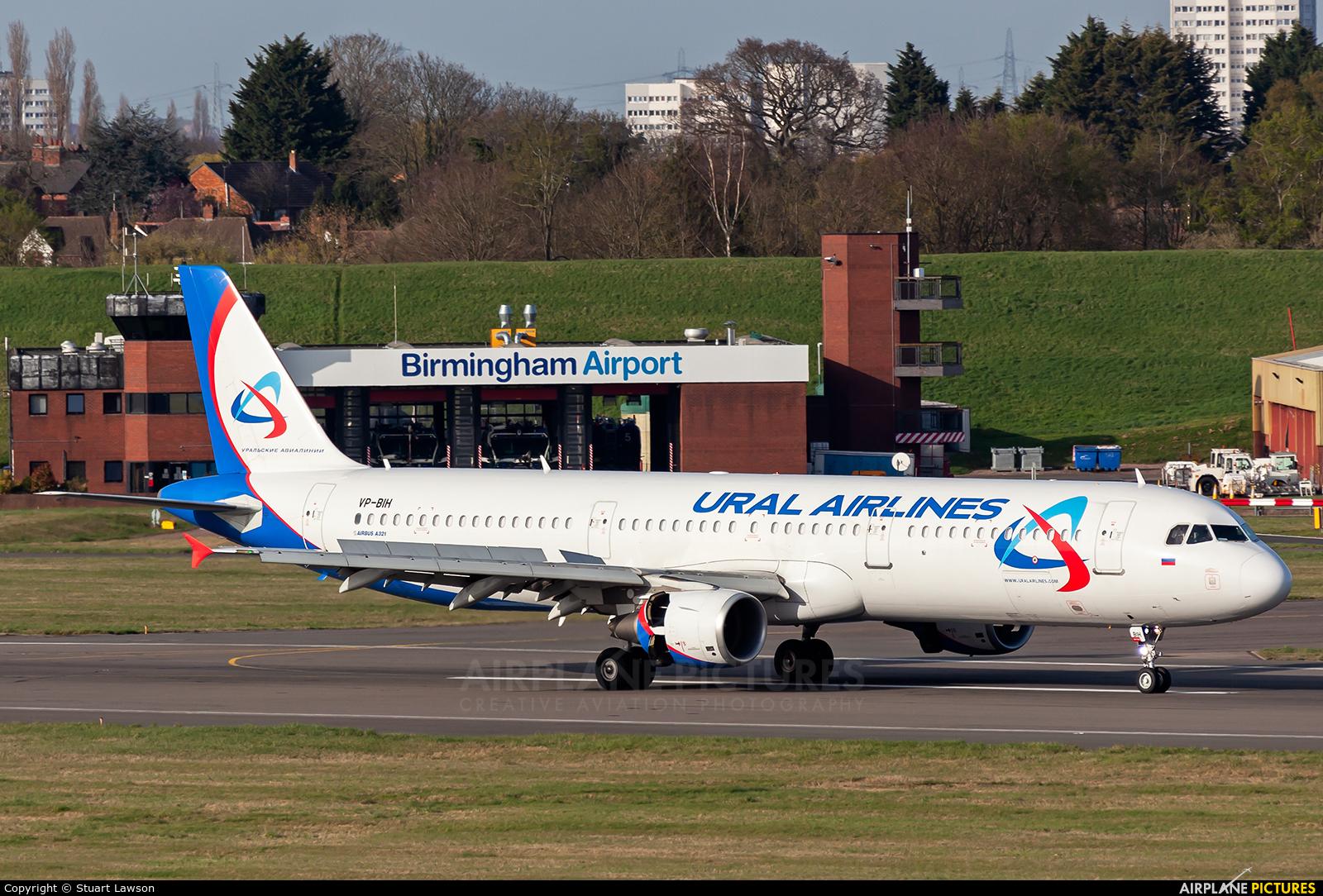 Ural Airlines VP-BIH aircraft at Birmingham