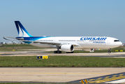 Delivery flight of the first A330 Neo for Corsair title=