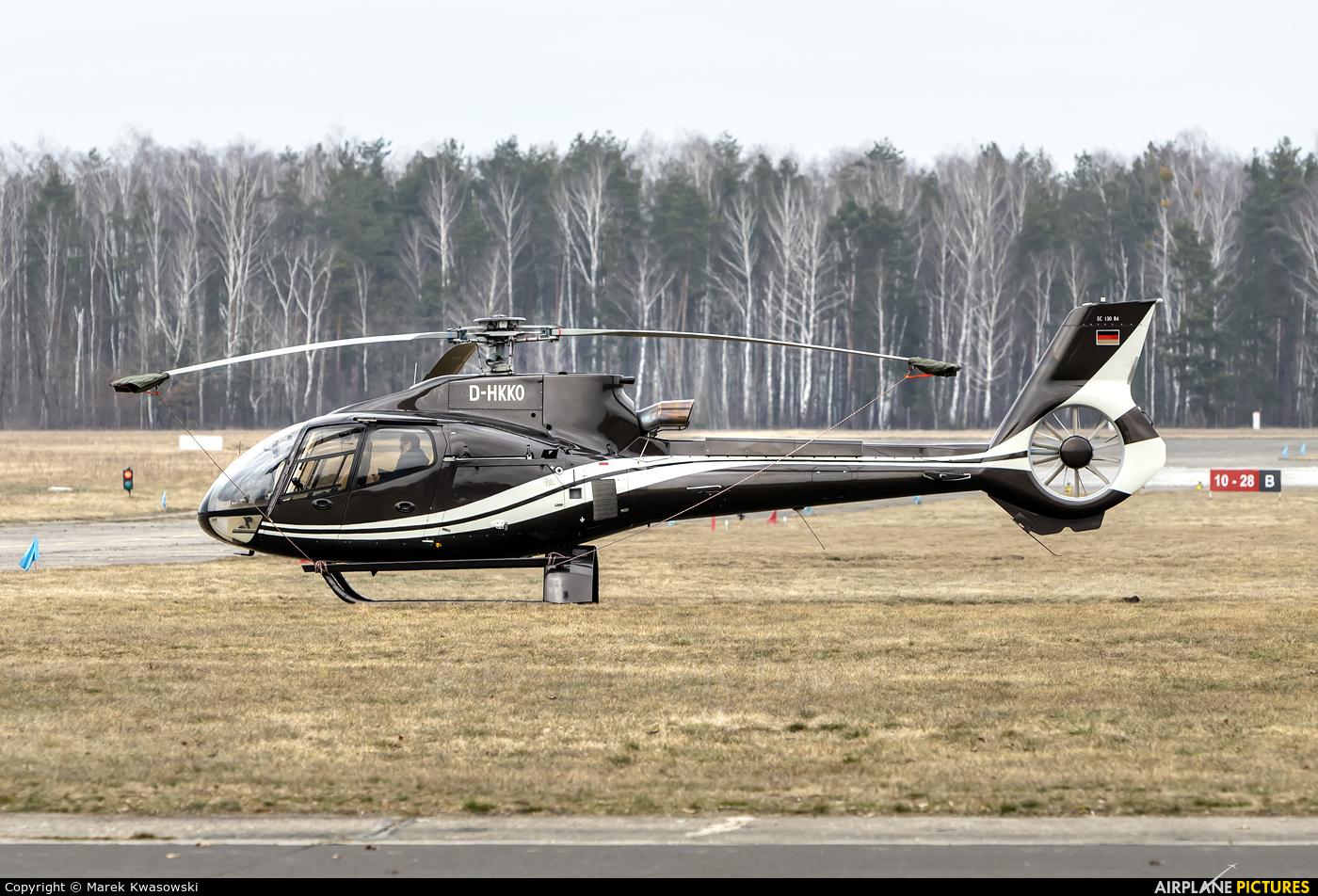 Private D-HKKO aircraft at Warsaw - Babice