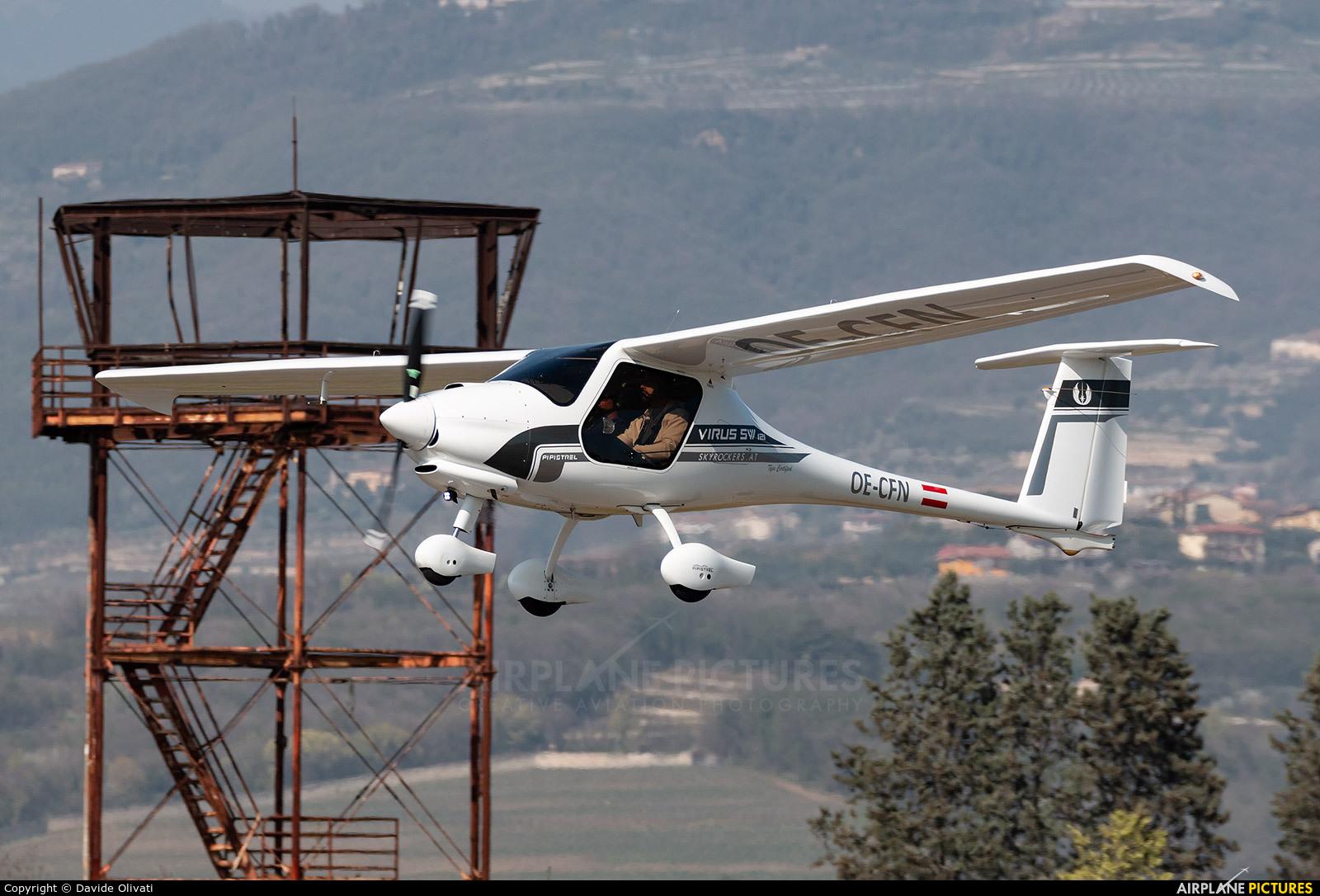 OE-CFN aircraft at Verona - Boscomantico