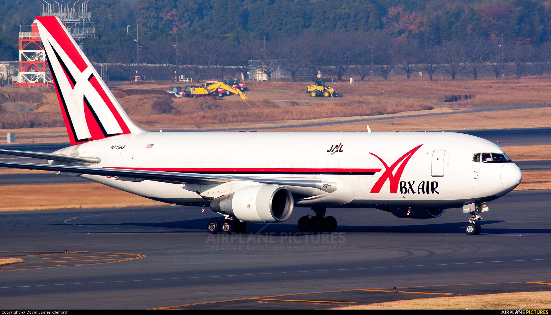 ABX Air N745AX aircraft at Tokyo - Narita Intl