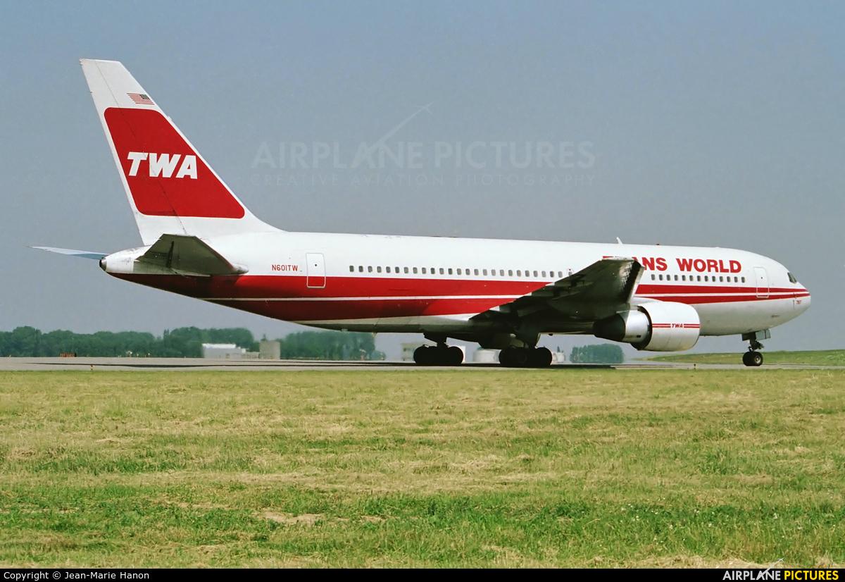 TWA N601TW aircraft at Brussels - Zaventem