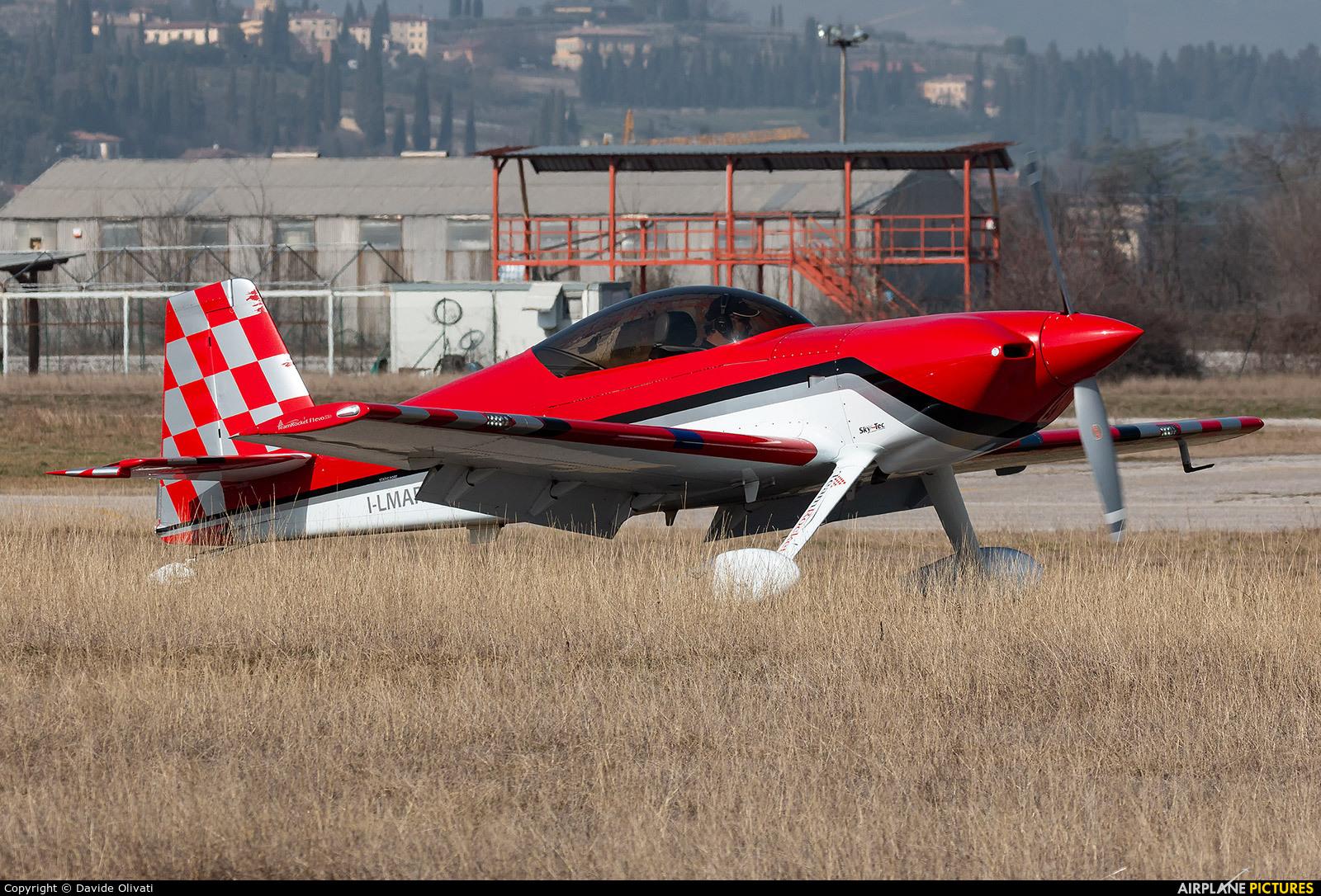 Private I-LMAR aircraft at Verona - Boscomantico