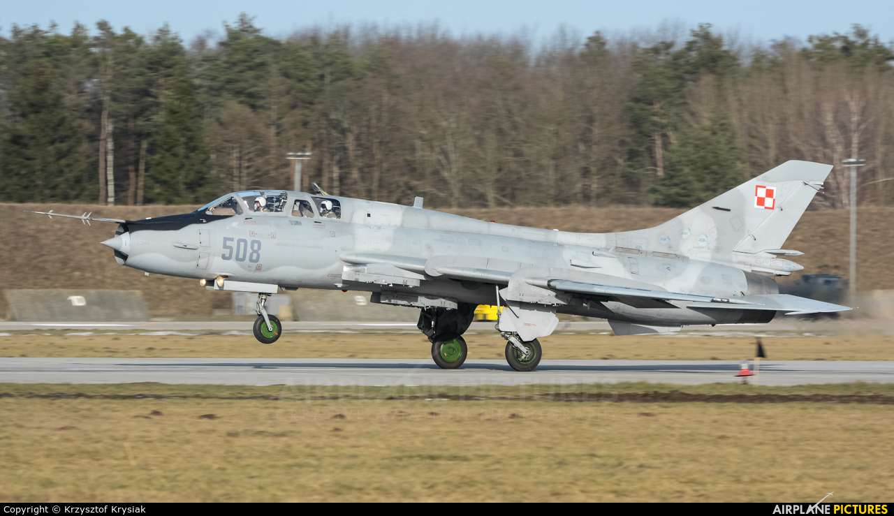 Poland - Air Force 508 aircraft at Świdwin