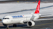TC-LSR - Turkish Airlines Airbus A321 NEO aircraft