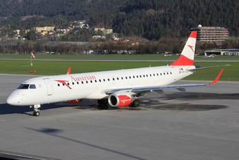 OE-LWN - Austrian Airlines/Arrows/Tyrolean Embraer ERJ-195 (190-200)